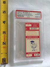 1979 NY Meys Montreal PSA Ticket Stub Opening Day D Palmer Win 1 Dawson 3B 19