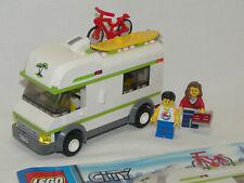 Lego City 7639 City Camper Wohnwagen komplett mit Anleitung OBA