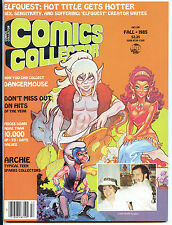 COMICS COLLECTOR 9 Fall 1985 Elfquest Archie