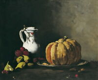 Theodule Ribot Still Life Giclee Canvas Print Paintings Poster Reproduction