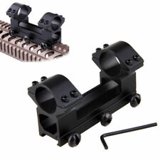 25.4mm Double Scope Mount High Profile See Through Rings Dovetail 10mm Dovetail