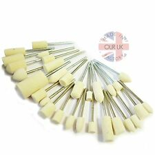 MOUNTED FELT BOB KIT10- Set of 30 Felts on 3mm for Polishing Metal- UK Made