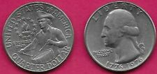 USA QUARTER 25 CENTS BICENTENNIAL 1776-1976 GEORGE WASHINGTON,COLONIAL DRUMMER,T