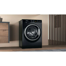 More details for hotpoint nswm1044cbs washer 10kg 1400 rpm in black