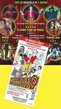 "Gerard Alessandrini ""FORBIDDEN BROADWAY"" Christina Bianco 2014 London Flyer"