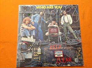 VINTAGE LP VINILE 33 GIRI THE WHO WHO ARE YOU ITALIA 1978