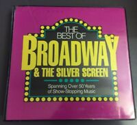 The Best of Broadway & The Silver Screen Collection Cassette 10 Tapes 50 Years