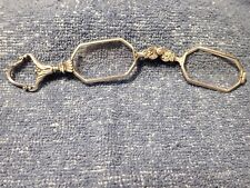 """ART DECO PERIOD 1920's SILVER """"SPRING-OUT"""" LORGNETTE IN WONDERFUL CONDITION"""