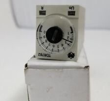 Time Delay Relay,12VDC,3A,4PDT,0.1 sec. SCHNEIDER ELECTRIC TDR782XDXA-12D