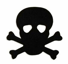 Tanning Bed Body Stickers Tattoos Pirate Skull Quantity 1000 on a Roll