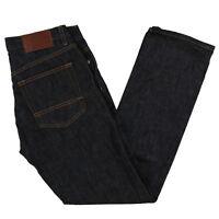 Tommy Hilfiger Mens Jeans Slim Straight Fit Denim Pants 29x30 30x30 Rinsed New