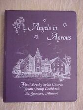 Angels in Aprons, First Presbyterian Church Cookbook Ste Genevieve MO