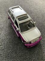 MAISTO 1/64 SCALE DIE CAST CAR INFINITY QX56 Silver/Purple Paint