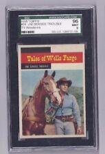 1958 Topps TV Westerns SET BREAK #59 Tales WellsFargo Jim Senses Trouble- SGC 9!