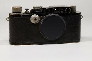 Leica III (Model F) Black paint 1936