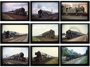 18 Duplicate steam railway colour slides -  Eastern Region Keith Pirt