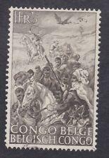 Belgian Congo 1947 - 1F 25c Sepia - SG270 - Mint Hinged (E24D)