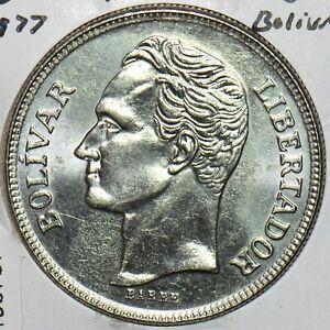 Venezuela 1977 5 Bolivares 196767 combine shipping