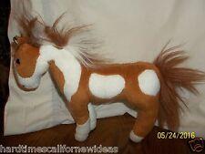 Breyer Brown White Horse Plush Poseable 2004
