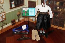 American Girl Doll Retired Christmas Recital Outfit, Violin & Stand, GUC!