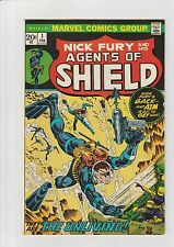 SHIELD #1 VF/NM 1973 Marvel Comic Nick Fury Scuba Diver
