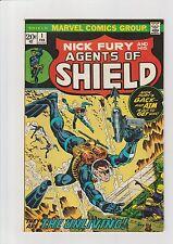 SHIELD #1 VF/NM 1973 Marvel Comic Nick Fury Scuba Diver