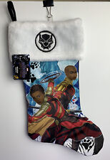 Marvel Black Panther Nakia Okoye Christmas Holiday Stocking Wakandan Royal Guard