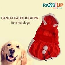 Paws UP Santa Claus Costume for dog (Medium)