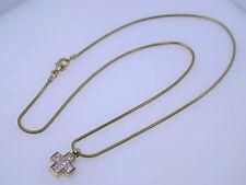 Reinheit IF Sehr gute Echte Diamanten-Halsketten & -Anhänger für Damen