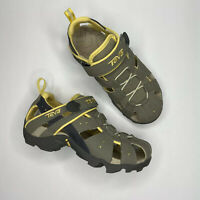 TEVA Deacon Yellow Gray Shoes Sandals Hiking Water Trail Outdoors Womens Size 5