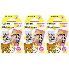 3 Packs 30 Photos Rilakkuma I Love gyu FujiFilm Fuji Instax Mini Film Polaroid
