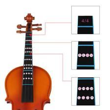 4/4 Violin Fiddle Finger Guide Fretboard Adhesive Sticker Label Intonation Chart