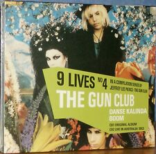 THE GUN CLUB-Danse Kalinda Boom 9 LIVES NO 4/THE GUN CLUB (Rare Dutch 2CD Set)