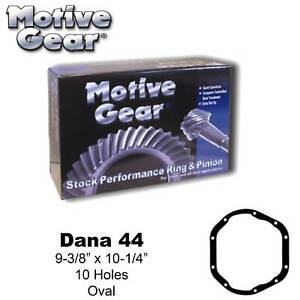 Motive Gear D44-373 Ring & Pinion Dana 44 3.73