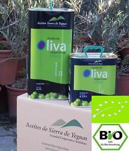 5  Liter Kaltgepresstes BIO Extra natives Olivenöl Andalusien 1° Preise  Biopal
