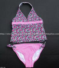 73% OFF! ANGEL BEACH 2-PC TANKINI SWIMSUIT SET SIZE 6 / 5-6 yrs BNWT US$ 24+