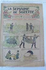 LA SEMAINE DE SUZETTE  5ème ANNEE  1909  -  N° 31