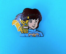 NAUSICAA FACE VALLEY OF THE WIND  ENAMEL PIN   FROM JAPAN VINTAGE MINT