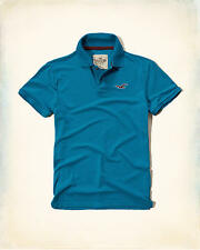HOLLISTER Pique Icon Polo Shirt Medium *Brand New w/ Tag* by Abercrombie & Fitch
