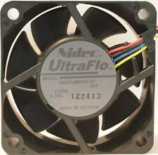 36 Pack Nidec 4-Pin UltraFlo U60T 60mm x 25mm Tube Axial Variable Cooling Fans