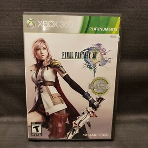 Final Fantasy XIII Platinum Hits (Microsoft Xbox 360, 2010) Video Game