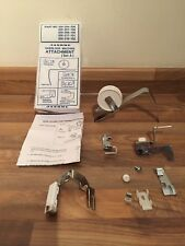 Janome Overlock Machine Attachment Set A, Taping,Cording,Gathering,Elastic&Tape