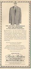 1962 Brooks Brothers PRINT AD Men's Fashion Suit Brooksweave great decor