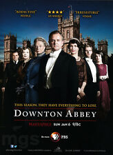 Downton Abbey 1-pg clipping ad Jan 2013 PBS series - ...Everything to Lose