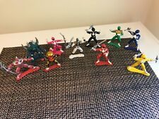 10 Vintage 1993 - 1994 Bandai MMPR Power Rangers 3? Mini Figures