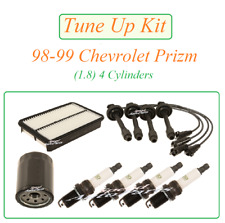 Tune Up For 89-99 Chevrolet Prizm 1.8 L4: Spark Plug Wire Set Air Oil Filters
