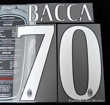 AC Milan Bacca 70 Football Shirt Name/Number Set Kit Home Serie a 2015/16