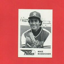 1981 ROCHESTER RED WINGS Team Issue WTF #23 MIKE BODDIKER Orioles NM+