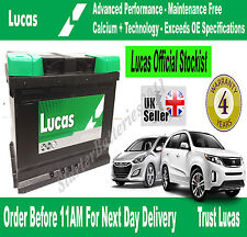 FORD Car & Van OEM Calcium Silver Battery TYPE 100 - Lucas LP100 - 12V 72AH 720A