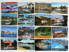 Schiffe & Seefahrt Lot mit 16x Schiffsfoto Schiff Postkarte Ship Postcards gel.
